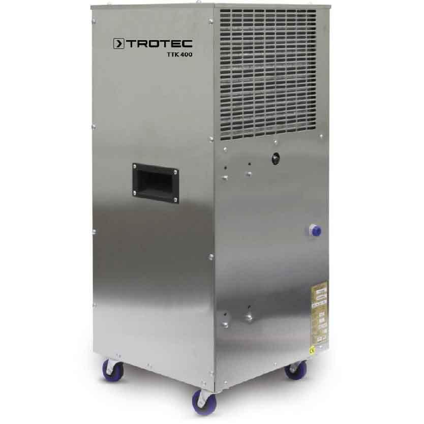 Deshumidificateur de chantier TTK 400 ES acier inoxydable