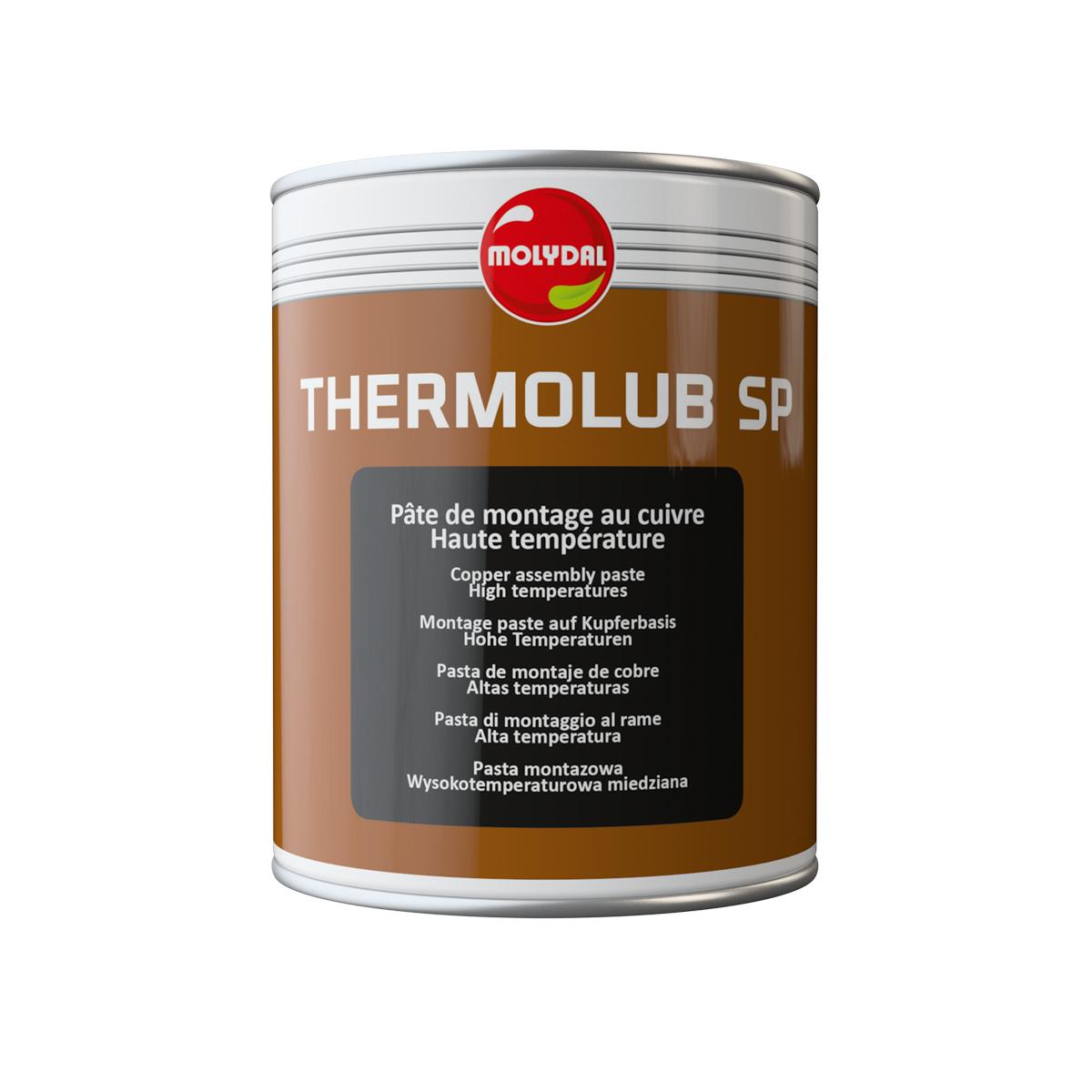 MOLYDAL - Pâte de montage au cuivre haute température : THERMOLUB SP