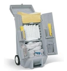 DENIOS - Kit d'intervention universel  DENSORB en chariot