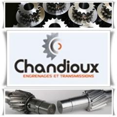 CHANDIOUX ENGRENAGES - Spécialiste en fabrication d'engrenages et de transmissions SAS CHANDIOUX