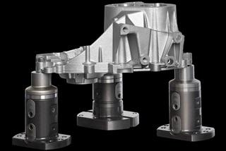 norelem - Système de bridage 5 axes UNI lock sans bords génants