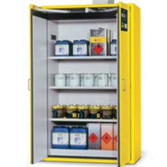 DENIOS - Armoire de sécurité coupe-feu 90 minutes pour liquides inflammables