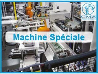 CMS AUTOMATISME - Conception et réalisation de machines spéciales – Automatisme et robotique