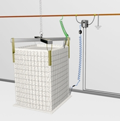 ADF SYSTEMES - ER FIBC II - Système actif de mise à la terre pour conteneur type C